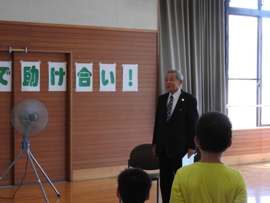 笛吹市社会福祉協議会の早河会長にもご出席を賜りました。